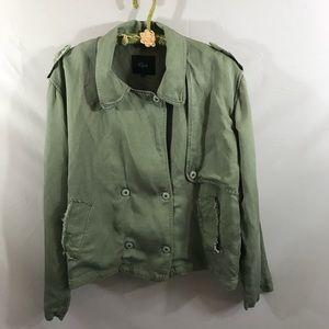 Rails Barclay Sage Jacket size large